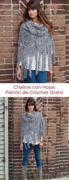 Chalina con Hojas Instrucción a Gancho