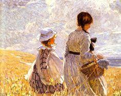 A Summer's Day ~ Dorothea Sharp (English 1874-1955)