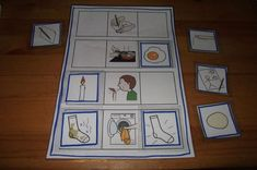 jeu images séquentielles avant après MS Name Activities, Sequencing Activities, Perception, Storytelling Books, Sequencing Pictures, Einstein, Doors And Floors, Montessori Education, Gallery Wall