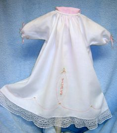 preemie daygown - this is so beautiful and gives the baby something to wear besides hospital-issue garments
