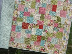 modern vintage quilt pattern ... Maybe someday I can become as good a seamstress as Grandma Elizabeth!