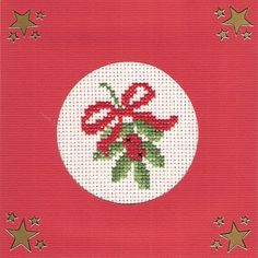 I also make christmas cards in cross stitch