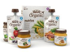 Georgina Luck: Heinz Organic baby food