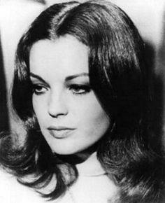 Romy schneider ♦ Austrian-born film actress.