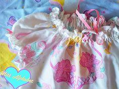 Lolita blouse Barbie fashion 80s shirt fairy kei by missalphabet