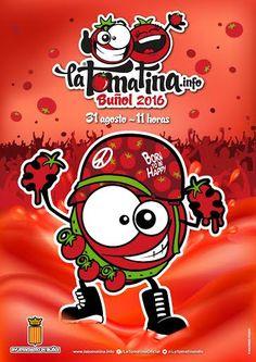 Resultado de imagen de cartel tomatina 2016