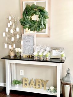 Baby Shower Centerpieces – Standout With Creative Baby Shower Decorations Fiesta Baby Shower, Baby Shower Brunch, Boy Baby Shower Themes, Gender Neutral Baby Shower, Baby Shower Fun, Baby Shower Parties, Baby Boy Shower, Baby Showers, Baby Shower Tree