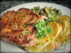 No Salt Recipes, Pork Recipes, Cordon Bleu, Smoothies, Food And Drink, Menu, Snacks, Chicken, Dinner