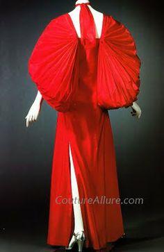 Couture Allure Vintage Fashion: Madame Alix Gres; 1945-55