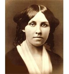 """Louisa May Alcott is best known and loved for """"Little Women,"""" a book loosely based on her own childhood. Behind the story of homemaking and the struggles of growing up during the Victorian time, lived a troubled woman who lived a double life. Few people knew her true side. It was only years after her death, when her other writings where found, that her real life became known."""