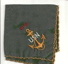 <3 Love this <3 Vintage USN handkerchief
