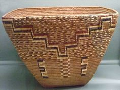 19th century CE Native American Basket | Photographed at the Maryhill Museum of Art in Goldendale, Washington.