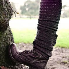 Military boots and leg warmers | My Style