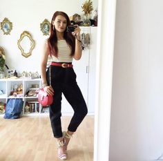 E Ca, Capri Pants, Ootd, Instagram Posts, Outfits, Style, Fashion, Swag, Moda