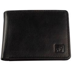 Fashion Freak Genuine Leather Bi Fold Black Wallet For Men