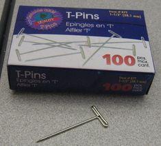 T-Pin Box and T-Pin