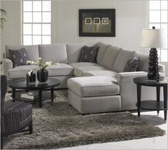 large luxury light gray leather sectionals google search