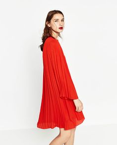 Image 7 of PLEATED DRESS from Zara