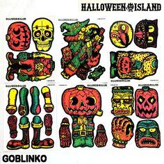 HALLOWEEN ISLAND - HALLOWEEN CUT-OUT DECORATIONS #1 – GOBLINKO MEGAMALL
