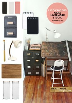 Home Office Rustic Art Studios 55 Ideas