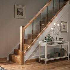 Image result for glass staircase