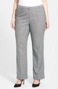 Halogen® 'Taylor - Pixel' Suit Pants (Plus Size) available at #Nordstrom