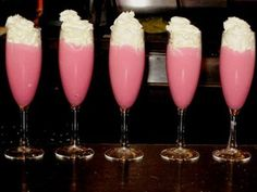 Girls night drinks ;) adding whipped cream to any girls night drink=amazing!