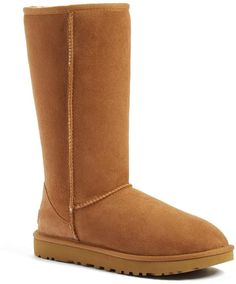 7cfdb8434e UGG AUSTRALIA Boots Uggs Michelle Slim Suede Shearling Chestnut ...
