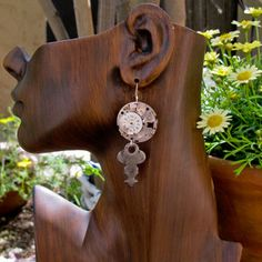 (57) Fab.com | Upcycled Vintage Accessories  Watch w/ Key earrings
