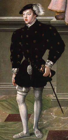 Holy Roman Empire - Maximilian II,Holy Roman Emperor by Jakob Reinette: German Style from Renaissance Men, Renaissance Clothing, Historical Clothing, 16th Century Fashion, 17th Century, German Style, Maximilian I, Tudor Costumes, Renaissance Portraits