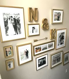 Diy Gallery Wall Inspiration Collage Frames On Wedding Modern