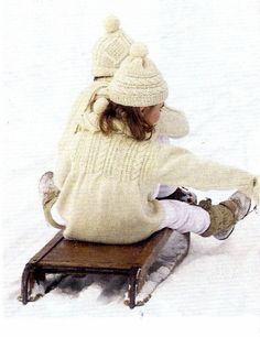 Marica - tunica o golf I Love Winter, Winter Colors, Winter Day, Winter Snow, Winter White, Winter Season, Winter Christmas, Christmas Child, Winter Kids