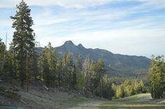 The Three Sisters @ Lee Canyon @ Las Vegas Ski and Snowboard Resort. Open May 25-Sep 2.