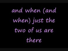 Jim and I's song...way back from 1994 ❤ All 4 One - I Swear (lyrics)