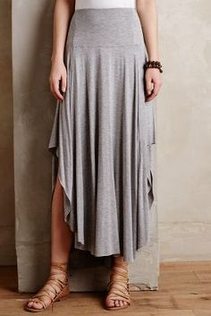 Weston Orray Maxi Skirt--this skirt looks pretty dang comfy. Looks Style, Style Me, Funky Style, Boho Fashion, Fashion Outfits, Womens Fashion, Mode Plus, Mode Boho, Dress Skirt