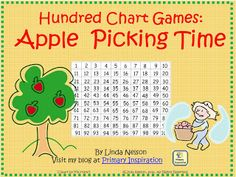 FREE two board games for moving up and back on the hundred chart ... plus a spinner for some extra practice with place value!