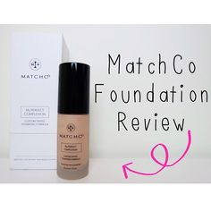 New video is live! I review the @matchco_ customized foundation.