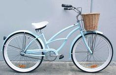 Color cielo: hermoso color para mi bici.. Posiblemente sea éste!  Bicicleta playera