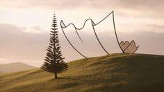 Horizon, la scultura di Neil Dawson sulla collina della Nuova Zelanda