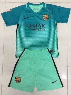 barcelona kids uniform