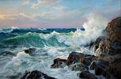 Paintings by Charles Vickery (1913 - 1998)