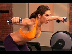 Jillian Michaels: Arms & Shoulders Workout is a short, but effective strength training workout that is designed to sculpt muscle in the arms and shoulders, and boost the heart rate through a combination of cardio and weight lifting exercises. Burn fat as you build definition in your biceps, triceps, back, and shoulders with America's Toughest Tr...