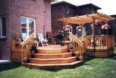 backyard deck ideas photos - Google Search