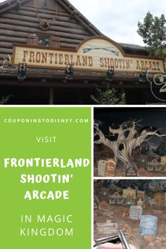 Frontierland Shootin' Arcade in Magic Kingdom Disney World Magic Kingdom, Disney World Parks, Disney World Planning, Walt Disney World Vacations, Cruise Vacation, Disney Cruise, Disney Tickets, Disney World Tips And Tricks, Epcot