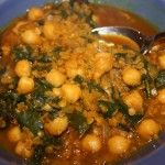 Curried Red Lentil and Chard Stew