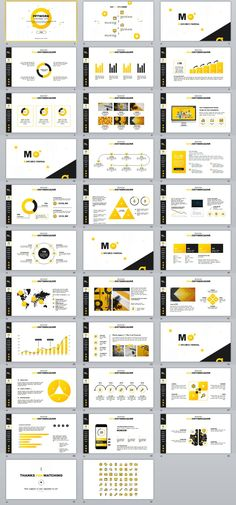Simple magazine business plan PowerPoint template - Pcslide.com#powerpoint #templates #presentation #animation #backgrounds #annual #report #business #company #design #creative