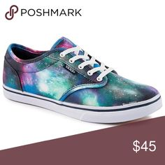 41898000b2 Galaxy Vans Bold galaxy ate wood vans Vans Shoes Sneakers Blue Vans