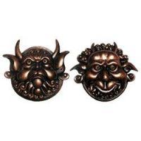 Labyrinth - door knockers http://www.themonstercompany.co.uk/product.php/2066/21/labyrinth_large_mouth_and_deaf_door_knocker_pair_of_faces_replica_prop_from_jim_hensons_labyrinth