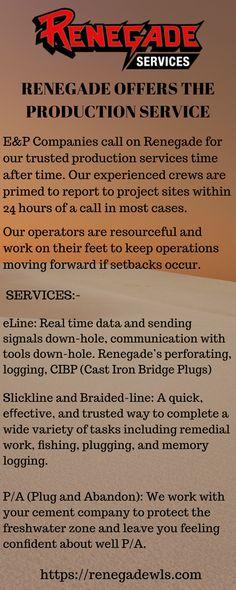 Renegade Wireline Services (renegadewls) on Pinterest