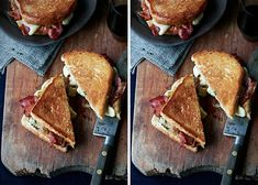 Bourbon Bacon Grilled Cheese. Great!  awesome!  added tomato and avocado- will make this weekly!